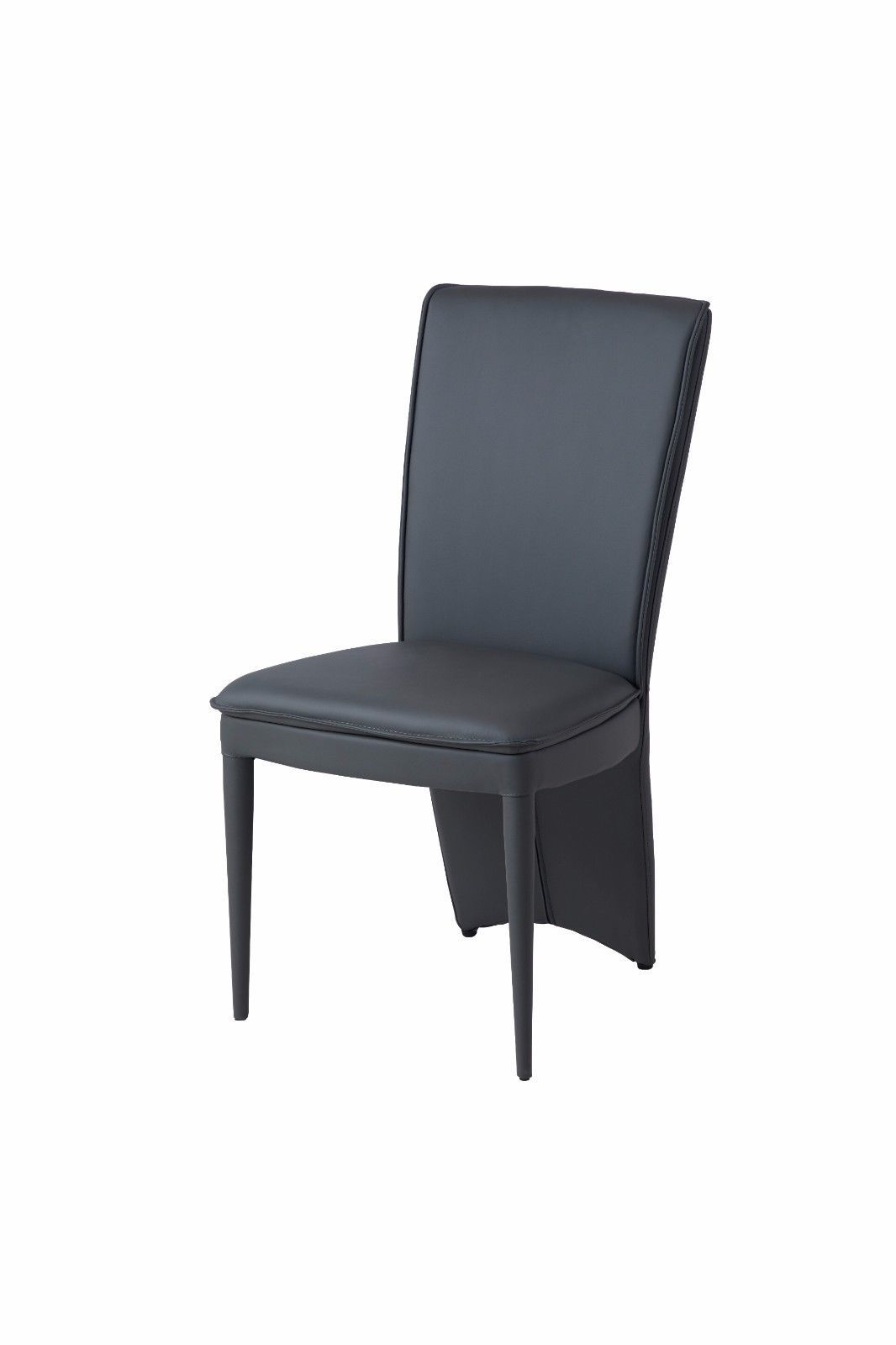 Black Leather Dining Chairs Ayshanti Black Leather Dining Chairs