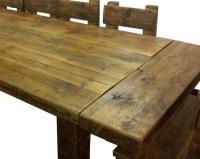 Handmade Wood Kitchen Tables, Wood Carving Dremel Tool ...