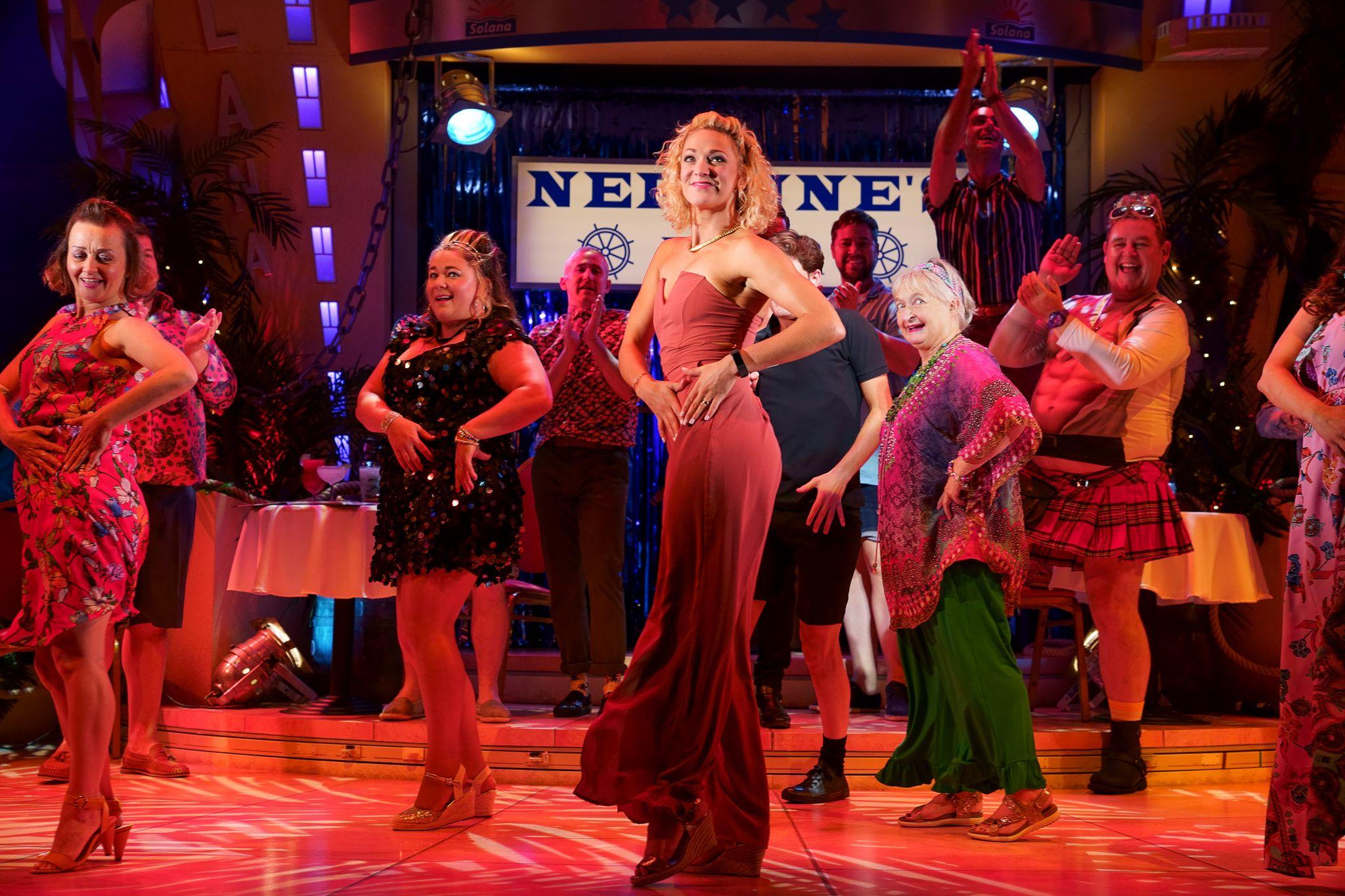 3. BENIDORM LIVE. Tricia Adele-Turner 'Sophie' and Company. Photo Paul Coltas.jpg