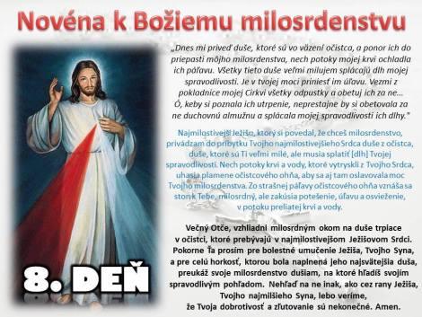 Božie milosrdenstvo 8