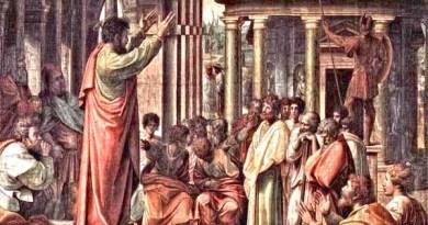 Zo Zápisov o mučeníctve svätého Justína a jeho spoločníkov
