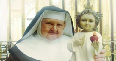 Vízia Dieťaťa Ježiš Matky Angeliky