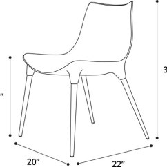 Modloft Dining Chair Babies R Us Rocking Uk Langham In Leather Cds028 Mkllnn Official Store Product Overview