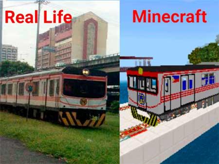 Philippine National Railway mcpe 2