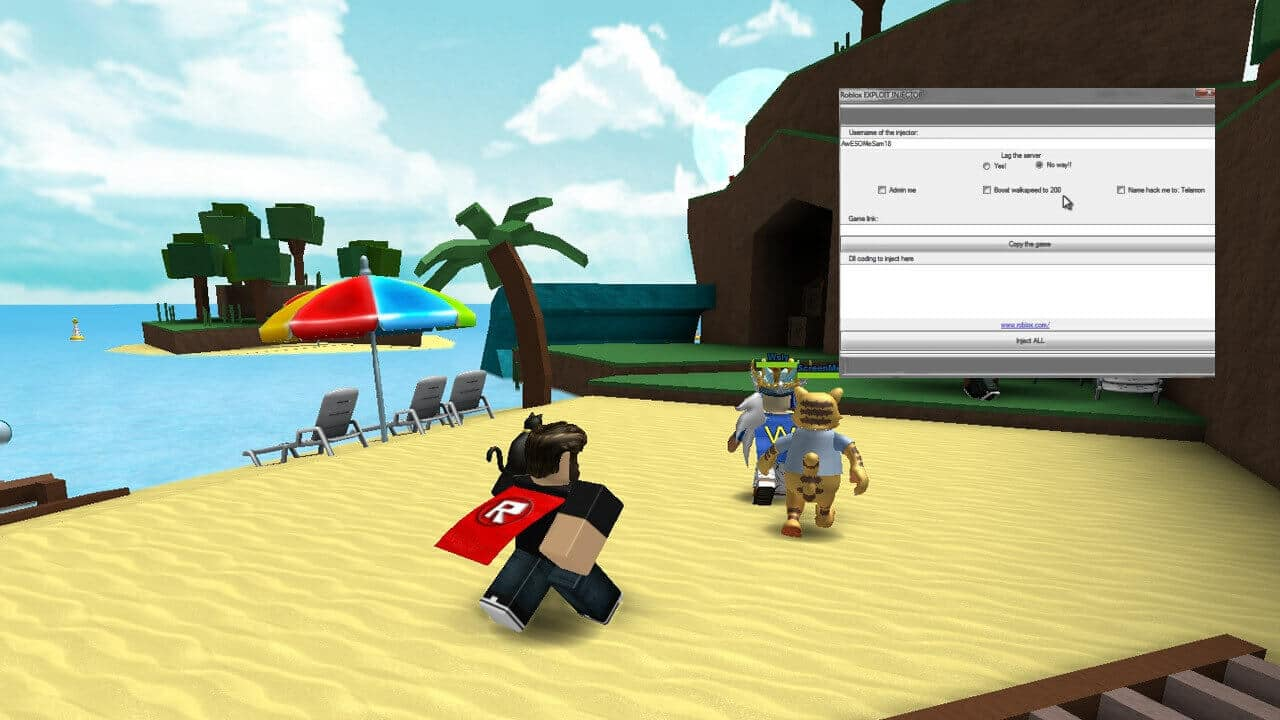 roblox hack injector for pc free