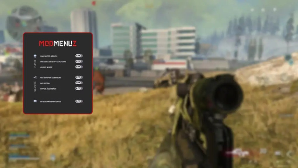 COD Warzone game trainer cheat for PC