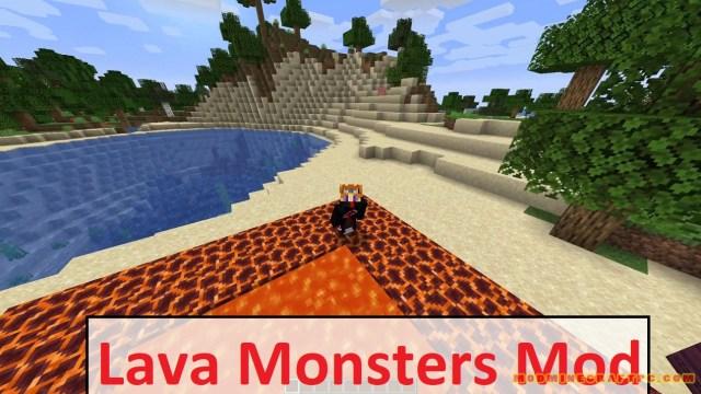 Lava Monsters Mod