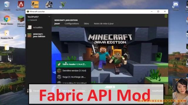 Minecraft Fabric API Mod