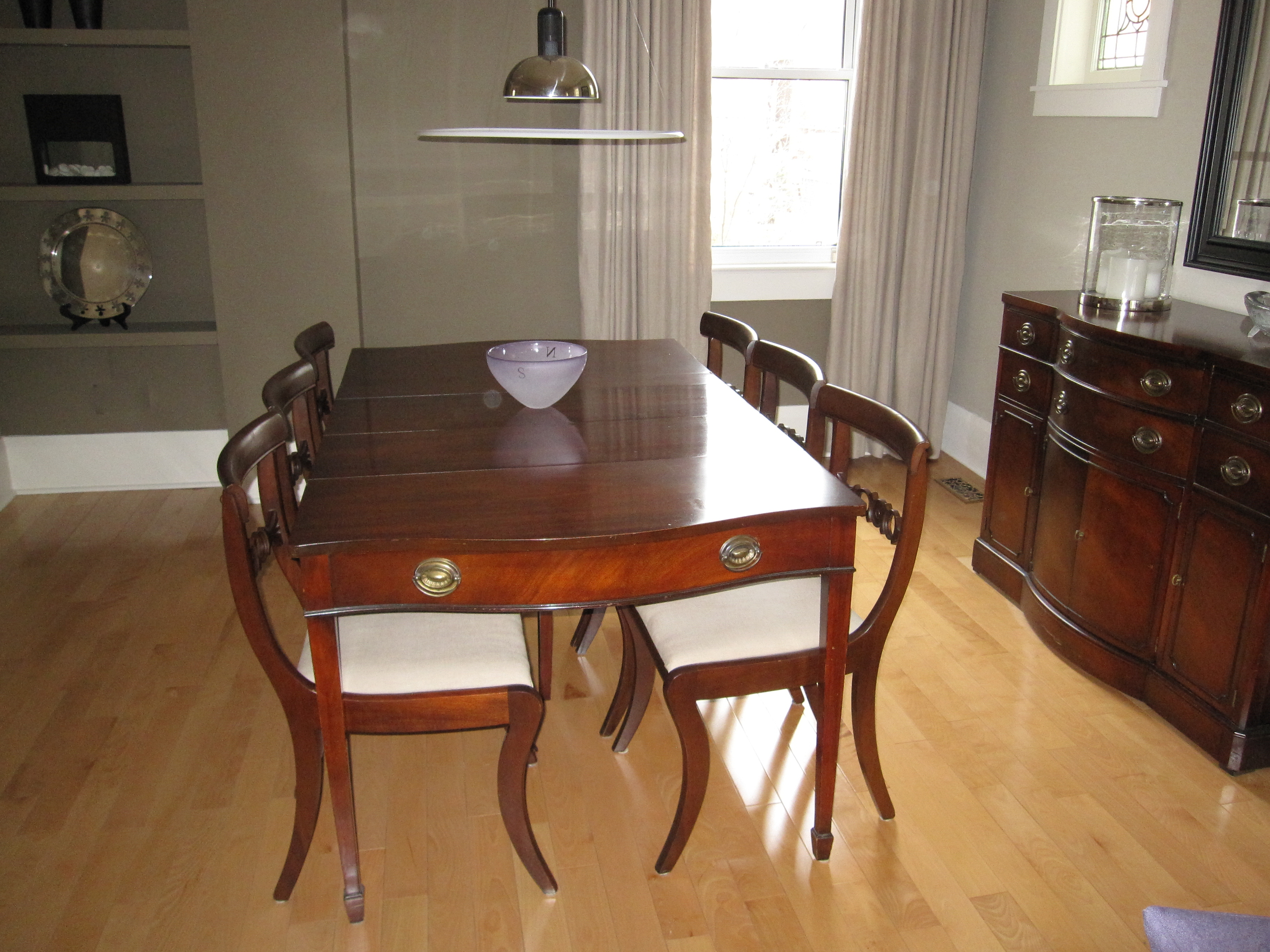 Woodworking Plans 1960s Extending Dining Table PDF Plans
