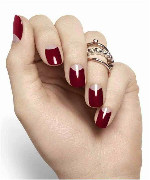 дизайн ногтей с лунками фото 5