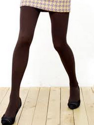 What can I wear with brown tights? 14