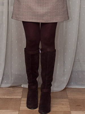 What can I wear with brown tights? 19