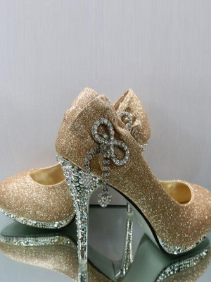 Wedding shoes 2018 year and their photos 7