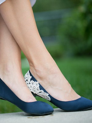 Wedding shoes 2018 year and their photos 35