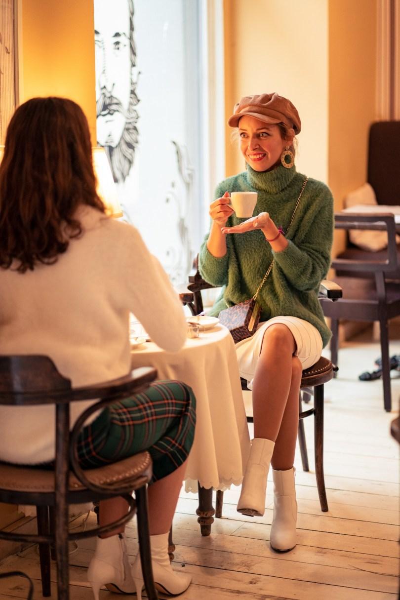 Modny tucet vlastny styl stylovy sukna jesenna moda rolak sukna blogerka