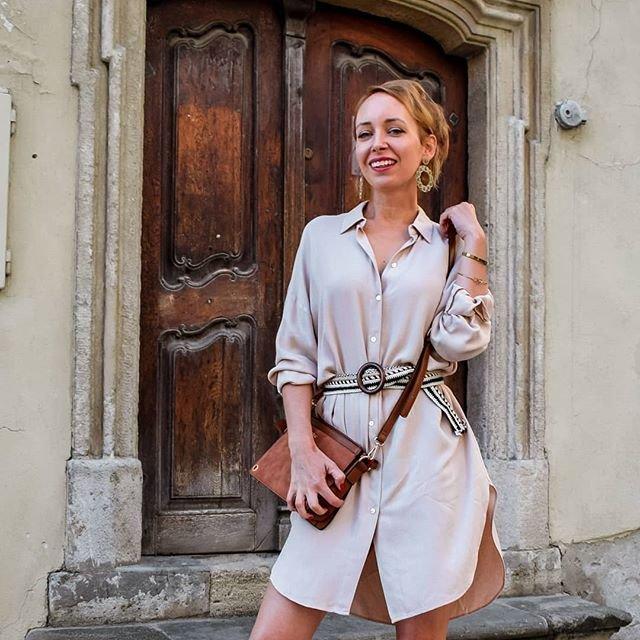 Fotenie v Bratislave Beblaveho blogerka