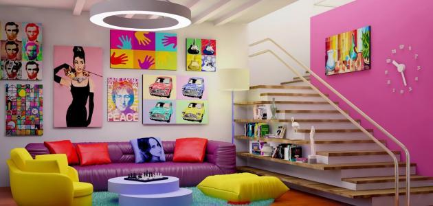 كيفية مزج الألوان لطلاء الجدران موضوع