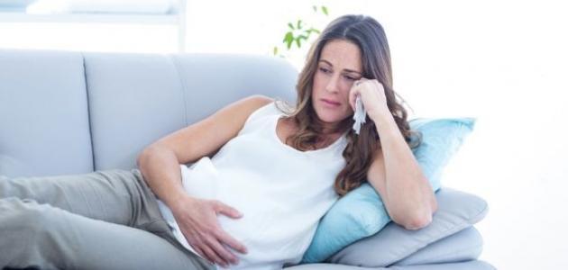 تأثير الزعل على الحامل موضوع