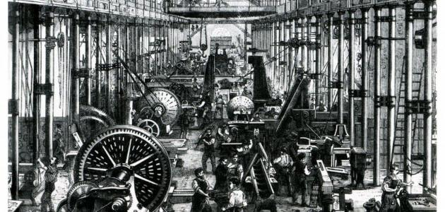 أسباب الثورة الصناعية