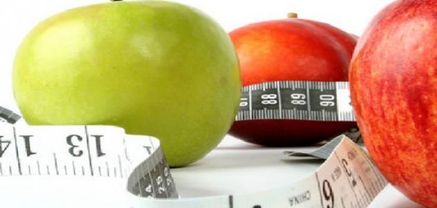 حساب عدد السعرات الحرارية التي يحتاجها الجسم موضوع