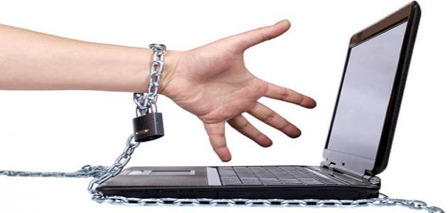 تعريف الإدمان على الإنترنت موضوع