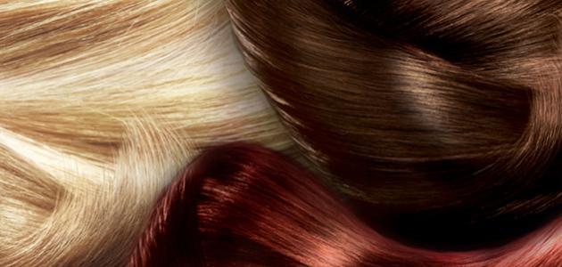 صبغات الشعر البني المحمر