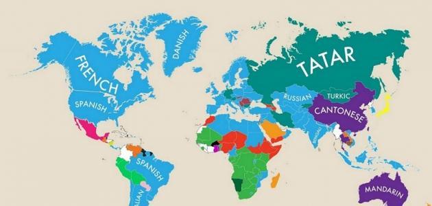 كيف جاءت لغات العالم موضوع