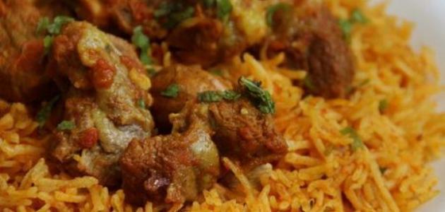 طريقة عمل أرز كبسة بالدجاج موضوع