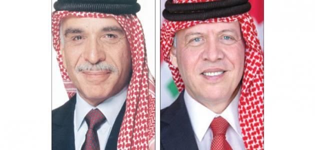 معلومات عن الملك عبدالله بن الحسين موضوع