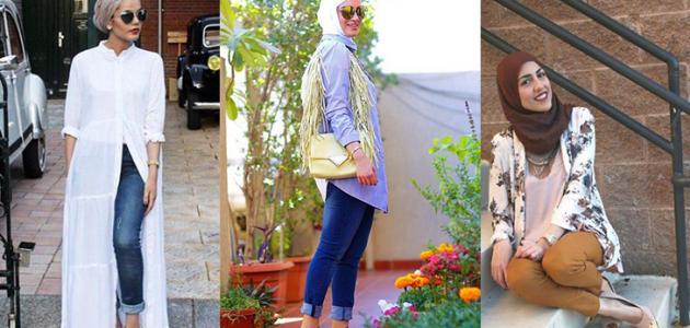 تنسيق ألوان الملابس للمحجبات موضوع