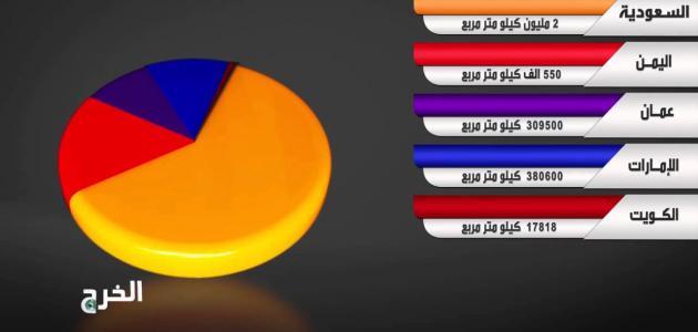 ما هي أكبر دولة عربية من حيث المساحة موضوع