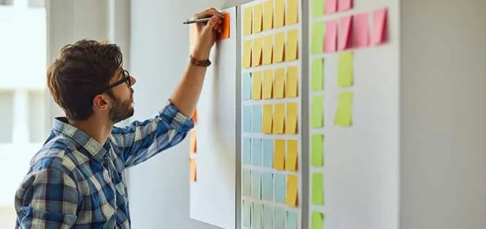 Post-its and highlighters to improve your productivity 2