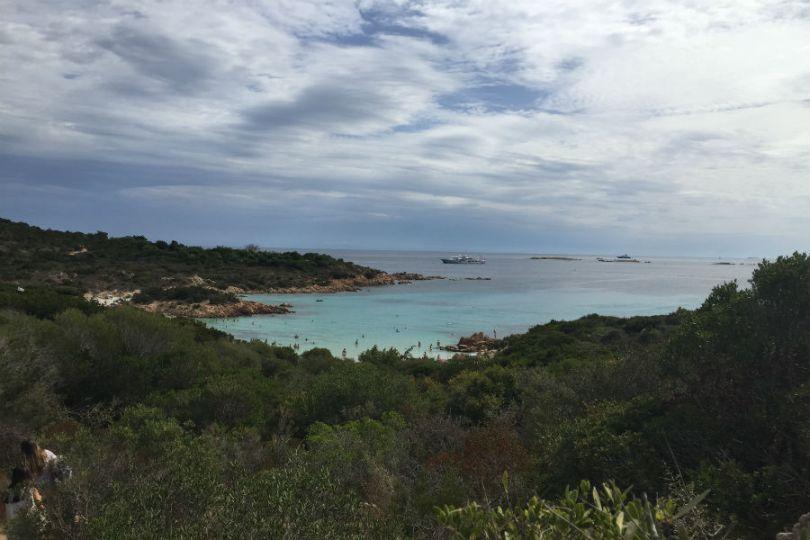 Spiaggia Del Principe - Trilha de acesso à praia
