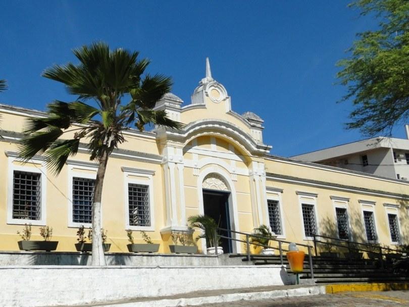 Entrada Centro de Turismo em Petrópolis