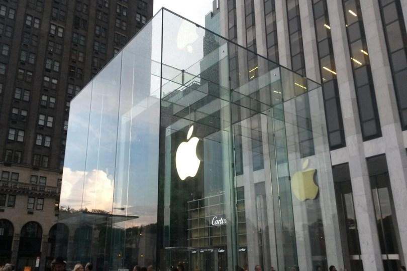 Loja apple_NY