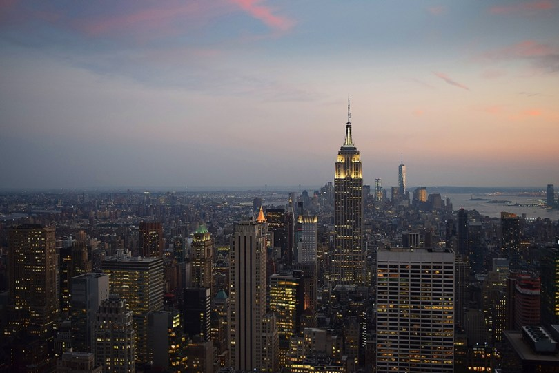 Top of the rock - Entardecer