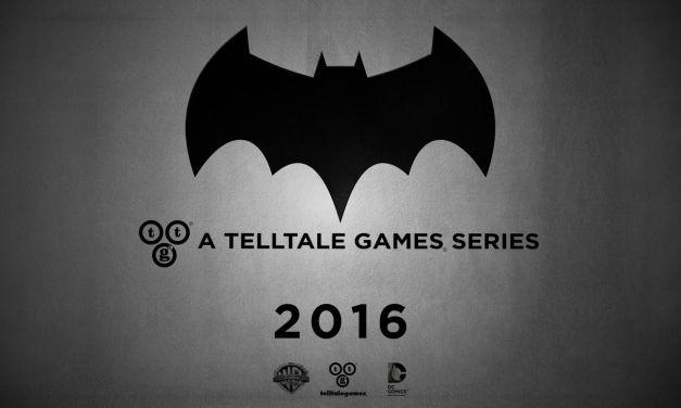 Game Awards '15: Telltale anuncia serie de Batman para 2016