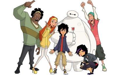 El elenco de Big Hero 6 regresa a la nueva serie animada de Disney XD