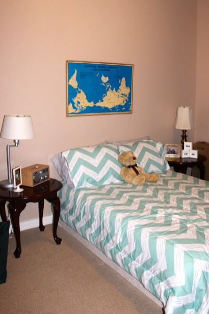 After: Guest Bed