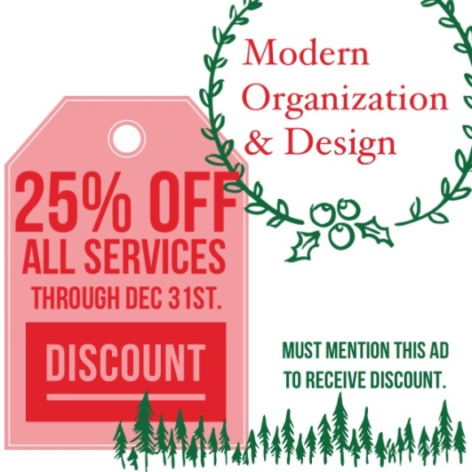 25% OFF All MOD Services!
