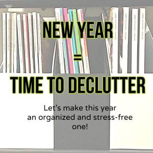 New Year Declutter
