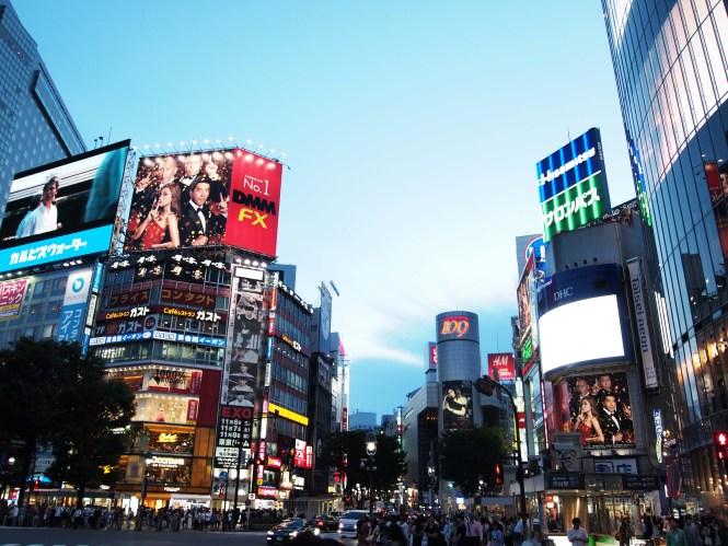 shibuya tokyo. qué ver en tokio en 5 días