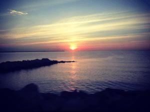 amanecer alicante