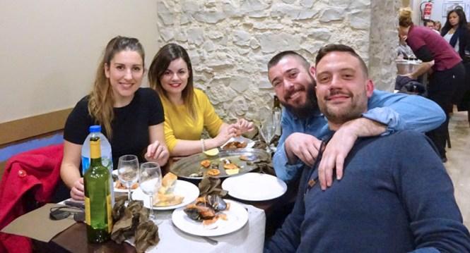 o retornino, marisco, barcelona, gastronomía