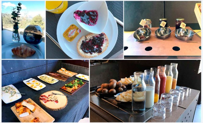 vivood landscape hotel benimantell valle de guadalest desayuno buffet