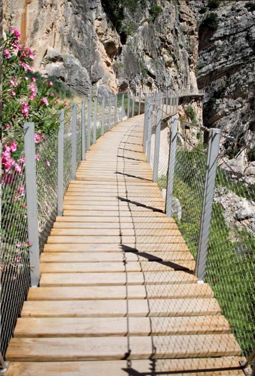 caminito del rey malaga senderismo