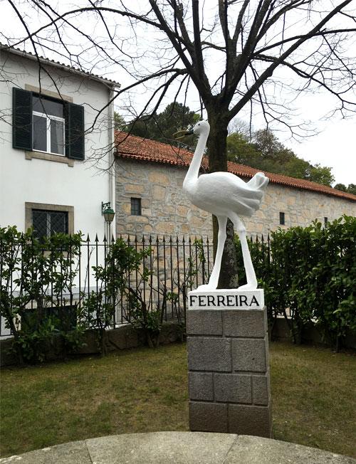 ruta del vino en Vila Nova de Gaia Oporto. Bodega Ferreira