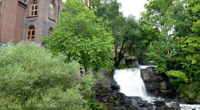 Rio Akerselva. Qué ver en Oslo en 4 días