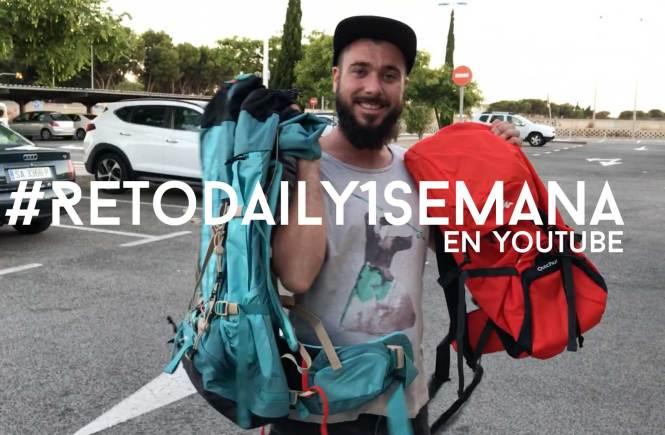 #retodaily1semana #retoyoutubeviajar