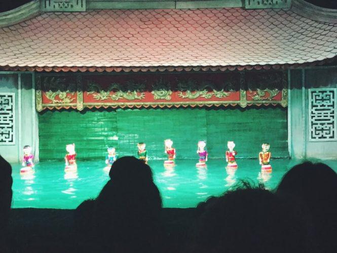 water puppet hanoi marionetas de agua